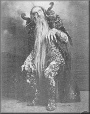 Enrico cecchetti in costume di Carabosse,1890