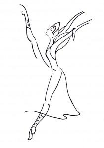 Ballerina Carattere mia