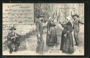 AK-Bourree-d-Auvergne-La-Bourreio-d-Aubergno-Dudelsackpfeifer-spielt-zum-Tanz[1]