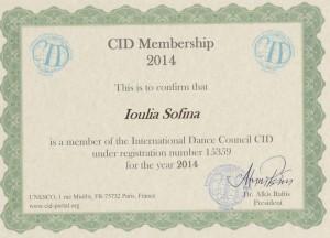 CID Certificato 2014