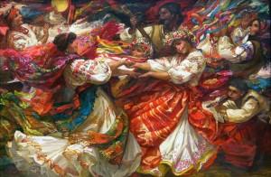 Natalia Papirina Danza ucraina